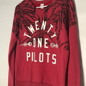 Twenty One Pilots | Red Sweatshirt, Size Large